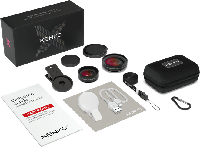 Xenvo Pro Lens Kit - Android and iPhone Lens for Mobile